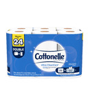 Cottonelle Ultra CleanCare Double Roll Toilet Paper Bath Tissue