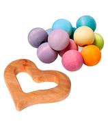 Grimm's Pastel Grasper Toy Bundle