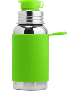 Pura Sport Stainless Steel Bottle Green