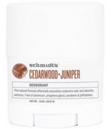 Schmidt's Deodorant Cedarwood & Juniper Deodorant Travel Size
