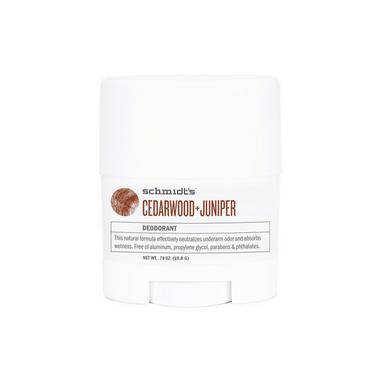 Schmidt\'s Deodorant Cedarwood & Juniper Deodorant Travel Size