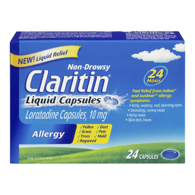 Claritin Non-Drowsy Allergy Liquid Capsules