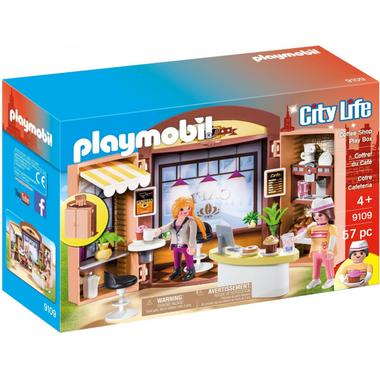 Playmobil Coffee Shop Play Box