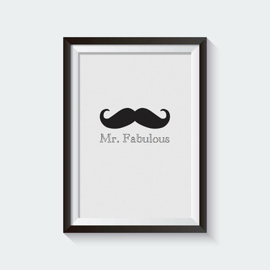 mavisBLUE Mr. Fabulous 5x7