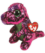 Ty Flippables Stompy The Sequin Dinosaur Medium