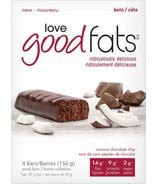 Love Good Fats Coconut Chocolate Chip Bars