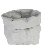 UASHMAMA Paper Bag Medium Grey