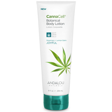ANDALOU naturals CannaCell Botanical Body Lotion Joyful