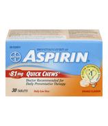 Aspirin 81mg Daily Low Dose Quick Chews