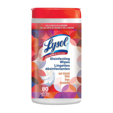 Lysol Disinfecting Wipes Sun-Kissed Linen