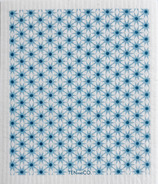Ten & Co. Swedish Sponge Cloth Starburst Blue