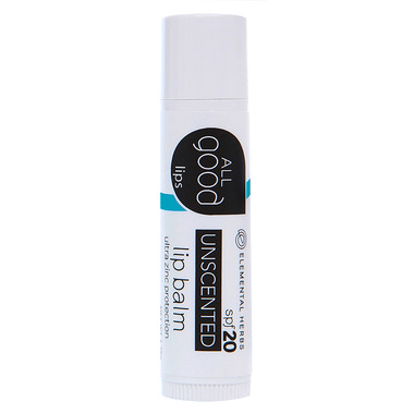 All Good Unscented Lip Balm SPF20