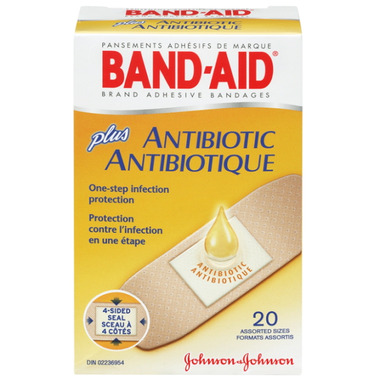 Band-Aid Plus Antibiotic