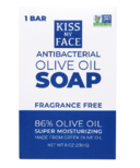 Kiss My Face Antibacterial Olive Oil Bar Soap
