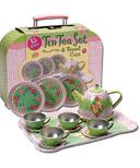 Schylling Tin Tea Set & Travel Case