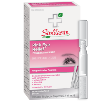 Similasan Pink Eye Relief Single-Use Droppers