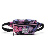 Herschel Supply Twelve Hip Pack Blurry Floral/Black Crosshatch