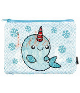 Fashion Angels Magic Sequins Let's Chill & Narwhal Pouch