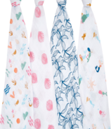 aden + anais Classic Swaddles Salty Kisses