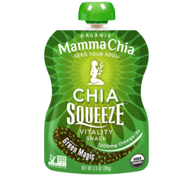 Mamma Chia Organic Chia Squeeze Green Magic