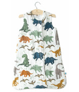 Little Unicorn Cotton Muslin Sleep Bag Dino Friends