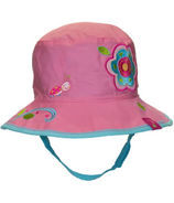 Calikids Reversible Hat Flower & Butterfly