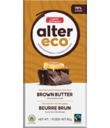 Alter Eco Dark Organic Chocolate Brown Butter