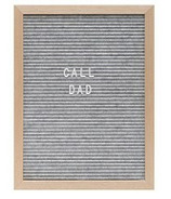 Drake General Store Felt Letter Board Large Grey