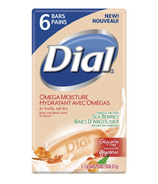 Dial Omega Moisture Glycerin Soap with Sea Berries