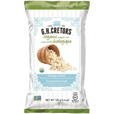 G.H. Cretors Organic Popcorn Simply Salted