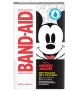 Band-Aid Brand Adhesive Bandages featuring Disney Mickey 100% Waterproof