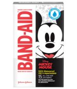 Pansements adhésifs de marque Band-Aid à l'effigie de Disney Mickey 100% imperméables à l'eau