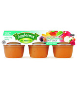 Applesnax Apple and Tropical Fruit Applesauce Cups