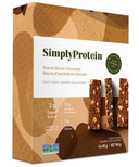 Simply Protein Peanut Butter Chocolate Plant Based Protein Bars