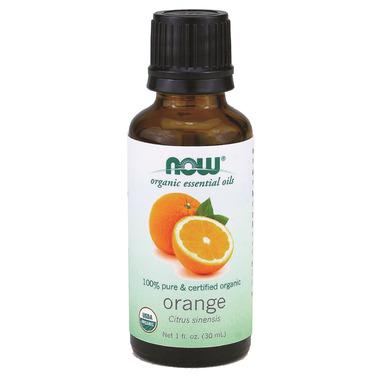 NOW Essential Oils Organic Orange Oil