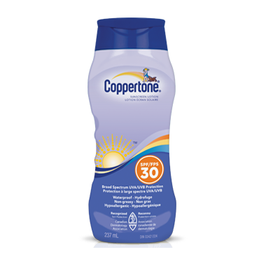 Coppertone Sunscreen Lotion
