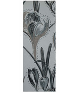 Gaiam Premium Reversible Print Yoga Mat 6 mm Subtle Bloom