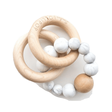 Loulou Lollipop Rattle Bubble Marble