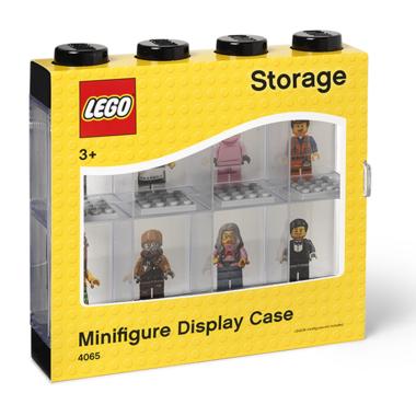 LEGO Minifigure Display Case 8 Black