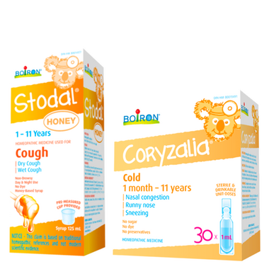 Boiron Cold Relief for Kids Bundle