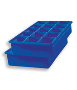 Tovolo Perfect Cube Ice Cube Trays Blue