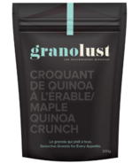 Granolust Maple Quinoa Crunch Granola