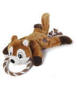 Charming Pet Products Ropes Gone Wild Chipmunk Dog Toy