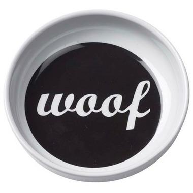 Ore\' Pet Bowl Melamine Woof Feeding Bowl