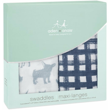 aden + anais Classic Swaddling Wraps Waverly