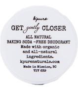 K'Pure Get Gently Closer Baking Soda Free Deodorant