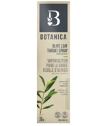 Botanica Olive Leaf Throat Spray Peppermint