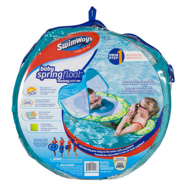 SwimWays Mommy & Me Baby Spring Float with Canopy