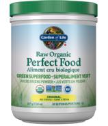 Garden of Life Raw Organic Perfect Food Green Superfood Original