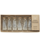 Harman Festive Tree Glass Jar LED String Lights Silver